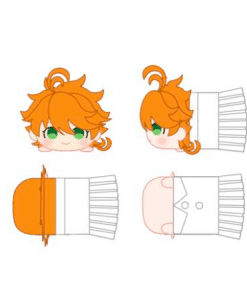 peluche emma the promised neverland