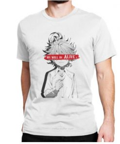 t-shirt the promised neverland